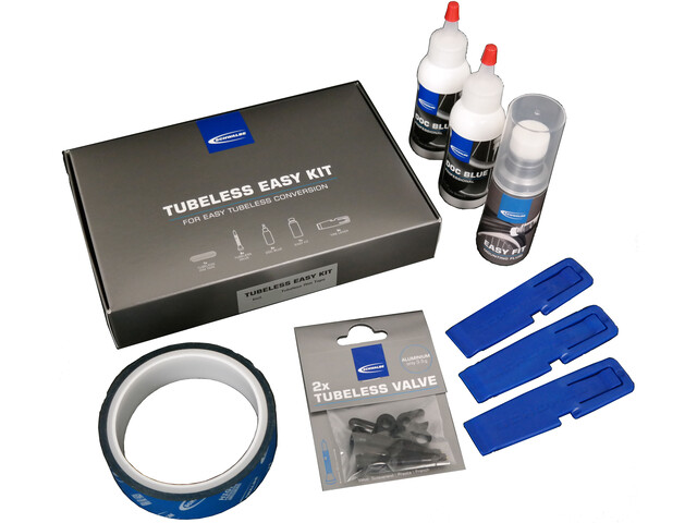 SCHWALBE Tubeless Easy Kit 23 Kit de conversion